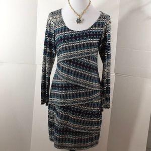 Sophie Max Jersey skimmer dress